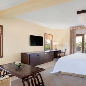 Bali Honeymoon Packages The Laguna Resort & Spa Deluxe Ocean View Suite Bedroom