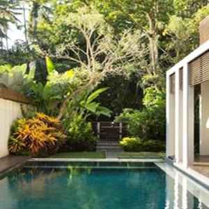Bali Honeymoon Packages The Samaya Ubud Ayung Villa Exterior Pool1