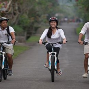 Bali Honeymoon Packages The Samaya Ubud Bike Riding