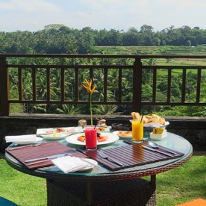 Bali Honeymoon Packages The Samaya Ubud Breakfast With A View