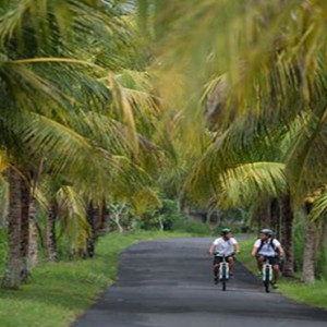 Bali Honeymoon Packages The Samaya Ubud Cycling