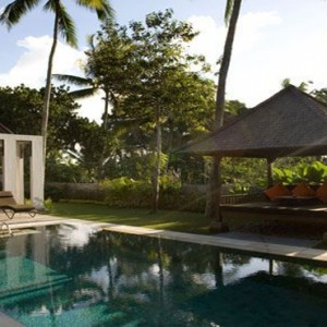 Bali Honeymoon Packages The Samaya Ubud Hill View Villa Exterior