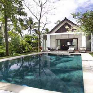 Bali Honeymoon Packages The Samaya Ubud Hillside Villa Pool