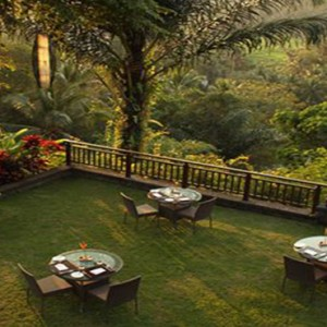 Bali Honeymoon Packages The Samaya Ubud Morning At Scene Restaurant
