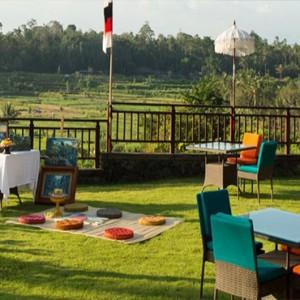 Bali Honeymoon Packages The Samaya Ubud Scene Restaurant