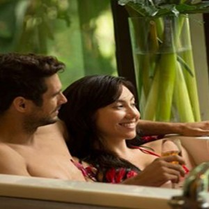 Bali Honeymoon Packages The Samaya Ubud Spa Bath Tub