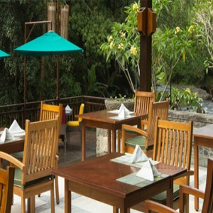 Bali Honeymoon Packages The Samaya Ubud Swept Away Restaurant