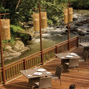 Bali Honeymoon Packages The Samaya Ubud Swept Away Restaurant Overview