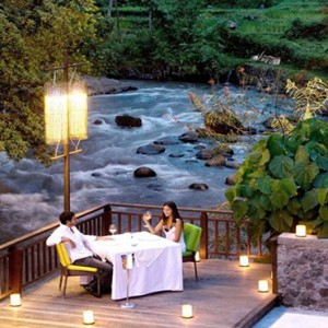 Bali Honeymoon Packages The Samaya Ubud Swept Away Restaurant Private Dining
