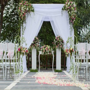 Bali Honeymoon Packages The Samaya Ubud Wedding Setup