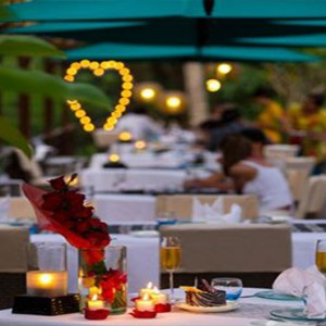Bali Honeymoon Packages The Samaya Ubud Dinner At Swept Away