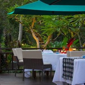 Bali Honeymoon Packages The Samaya Ubud Dinner Setup