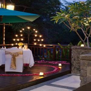 Bali Honeymoon Packages The Samaya Ubud Romantic Candle Lit Dinner