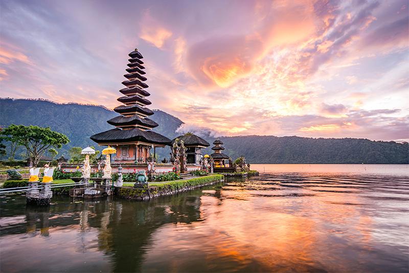 Bali - top honeymoon destinations in 2018