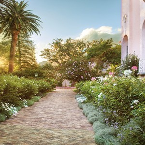 Belmond Mount Nelson, Cape Town - Luxury South Africa Honeymoon Packages - Garden view