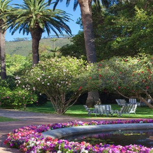 Belmond Mount Nelson, Cape Town - Luxury South Africa Honeymoon Packages - Garden view1