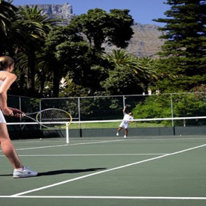 Belmond Mount Nelson, Cape Town - Luxury South Africa Honeymoon Packages - Tennis