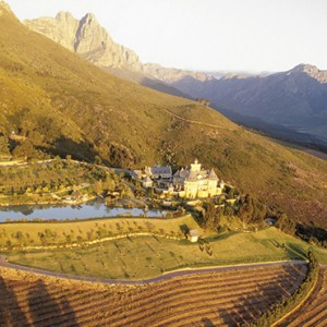 Belmond Mount Nelson, Cape Town - Luxury South Africa Honeymoon Packages - Winesland location