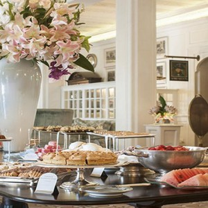 Belmond Mount Nelson, Cape Town - Luxury South Africa Honeymoon Packages - buffet