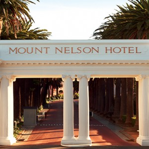 Belmond Mount Nelson, Cape Town - Luxury South Africa Honeymoon Packages - hotel exterior
