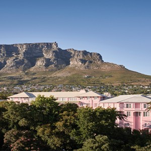 Belmond Mount Nelson, Cape Town - Luxury South Africa Honeymoon Packages - view of hotel