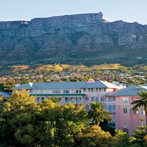 Belmond Mount Nelson, Cape Town - Luxury South Africa Honeymoon Packages - view of hotel1