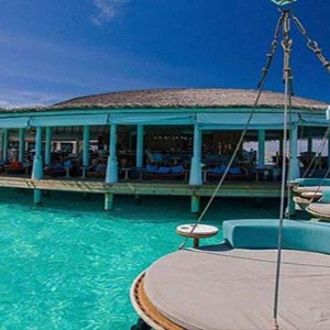 Centara Grand Island Resort & Spa - Luxury Maldives Honeymoon Packages - Aqua