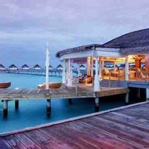 Centara Grand Island Resort & Spa - Luxury Maldives Honeymoon Packages - Aqua exterior