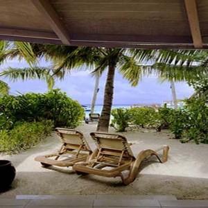 Centara Grand Island Resort & Spa - Luxury Maldives Honeymoon Packages - Beach Suite beach view