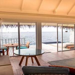 Centara Grand Island Resort & Spa - Luxury Maldives Honeymoon Packages - Deluxe water villa