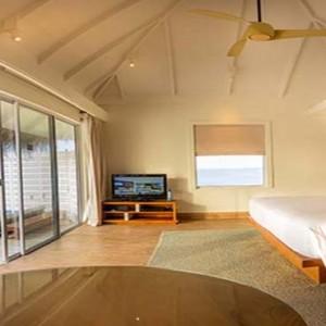 Centara Grand Island Resort & Spa - Luxury Maldives Honeymoon Packages - Deluxe water villa interior