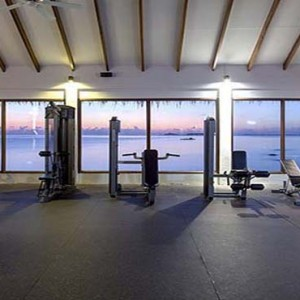 Centara Grand Island Resort & Spa - Luxury Maldives Honeymoon Packages - Fitness with a view