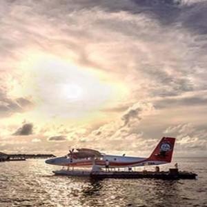 Centara Grand Island Resort & Spa - Luxury Maldives Honeymoon Packages - Seaplane transfer