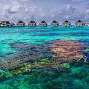 Centara Grand Island Resort & Spa - Luxury Maldives Honeymoon Packages - Snorkelling