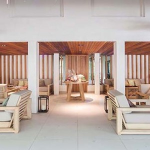 Centara Grand Island Resort & Spa - Luxury Maldives Honeymoon Packages - Spa lobby