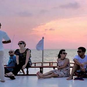 Centara Grand Island Resort & Spa - Luxury Maldives Honeymoon Packages - Sunset Cruise