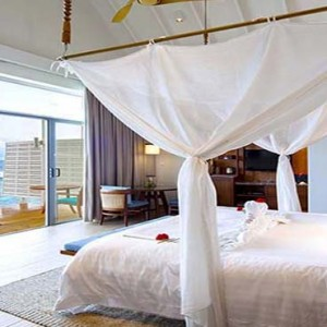 Centara Grand Island Resort & Spa - Luxury Maldives Honeymoon Packages - Sunset Ocean Pool Villa Interior