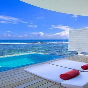 Centara Grand Island Resort & Spa - Luxury Maldives Honeymoon Packages - Sunset Ocean Pool Villa exterior pool