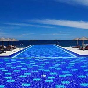 Centara Grand Island Resort & Spa - Luxury Maldives Honeymoon Packages - The Main Pool