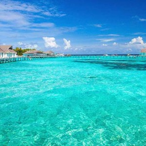 Centara Grand Island Resort & Spa - Luxury Maldives Honeymoon Packages - overwater villas