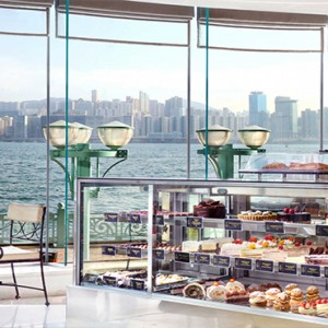 Harbour Grand Kowloon - Luxury Hong Kong Honeymoon Packages - Corner Cafe