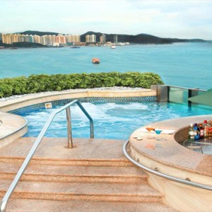Harbour Grand Kowloon - Luxury Hong Kong Honeymoon Packages - Jacuzzi with a view