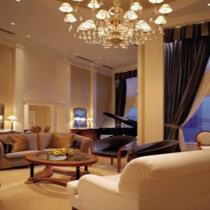 Harbour Grand Kowloon - Luxury Hong Kong Honeymoon Packages - Presidential Suite (15F) living room