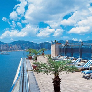 Harbour Grand Kowloon - Luxury Hong Kong Honeymoon Packages - Rooftop pool deck