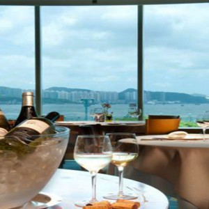 Harbour Grand Kowloon - Luxury Hong Kong Honeymoon Packages - Waterfront Bar & Terrace
