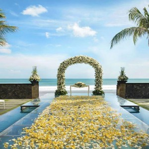 Legian Bali Seminyak - Luxury Bali Honeymoon Packages - Beach house wedding