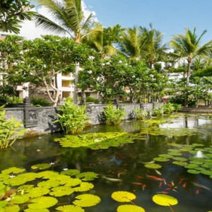 Legian Bali Seminyak - Luxury Bali Honeymoon Packages - Garden river view