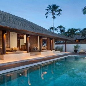 Legian Bali Seminyak - Luxury Bali Honeymoon Packages - One bedroom Villa (Villas at The Club) Private pool area