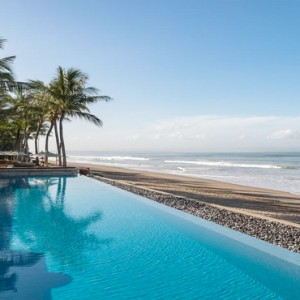 Legian Bali Seminyak - Luxury Bali Honeymoon Packages - Pool and beach
