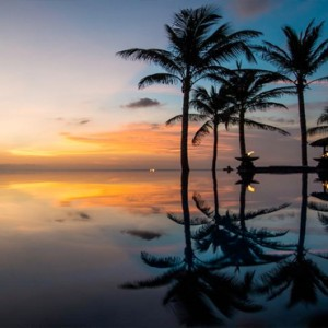 Legian Bali Seminyak - Luxury Bali Honeymoon Packages - Sunset